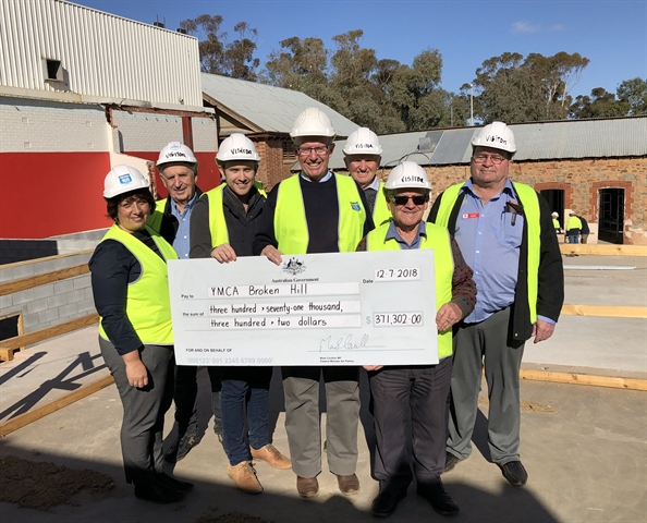 More than $370,000 to boost Broken Hill YMCA – Mark Coulton MP
